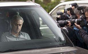 On n'est jamais tranquille quand on s'appelle José Mourinho.
