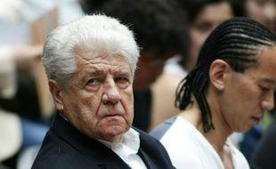 Le fondateur de Cacharel Jean Bousquet, le 4 juillet 2004 à Paris