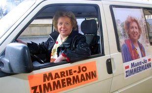 La député UMP Marie-Jo Zimmermann, auteur de loi sur la féminisation des conseils d'administration