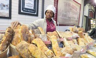 Les boulangeries Augustin comptent pour l'heure 14 boutiques, comme ici sur la dalle du Colombier à Rennes.