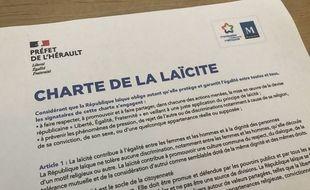 La charte de la laïcité que devront signer les associations subventionnées par la ville de Montpellier