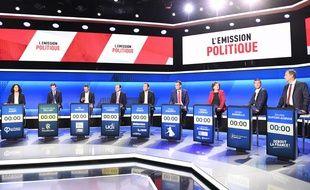 Un premier débat entre onze têtes de listes avait eu lieu sur France 2 le 2 avril dernier.