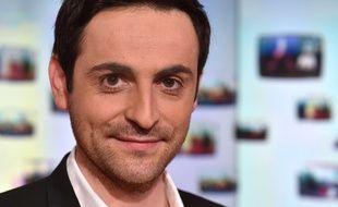 Camille Combal, animateur de radio et de television, à Paris, le 19 février 2016.