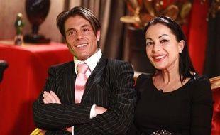 Giuseppe et sa mère Marie-France dans l'émission «Qui veut épouser mon fils»