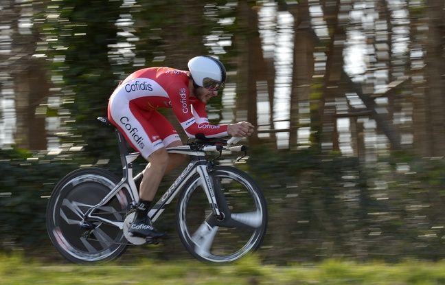 Florian Sénéchal, ici sur Paris-Nice, a terminé premier Français de Paris-Roubaix 2015