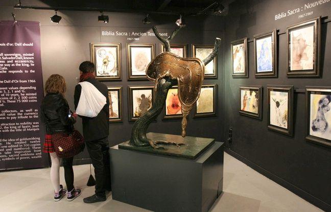 300 oeuvres de l'espace Dali visibles à Nantes (illustration)