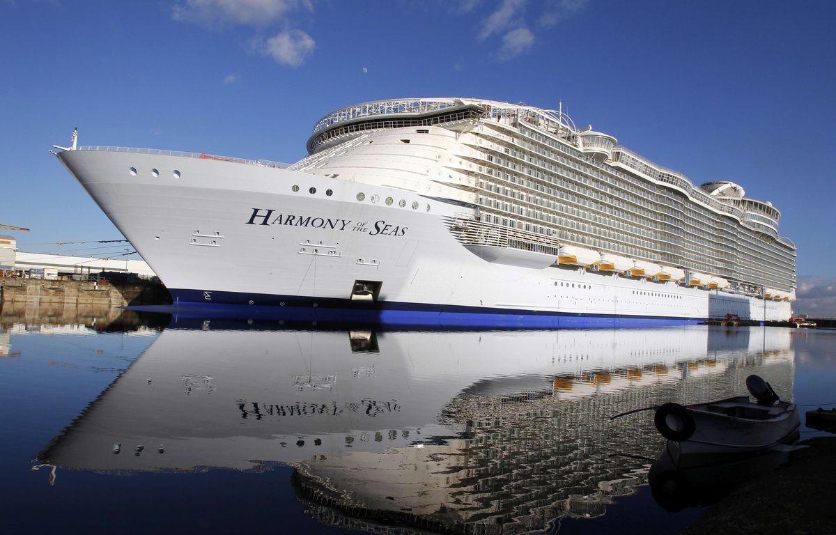 "The ""Harmony of the Seas""(AP Photo/Laetitia Notarianni)/NYOTK/333703707531/1602191040 – Laetitia Notarianni/AP/SIPA"