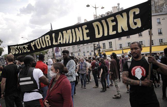 Violences policières: Rassemblement à Paris en hommage à Lamine Dieng, mort après une interpellation