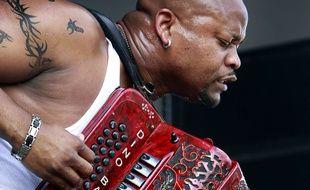 L'accordéon loin des clichés, ici  à un festival de jazz, à La Nouvelle-Orléans.