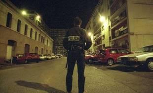 Un policier de la brigade anticriminalité (BAC).