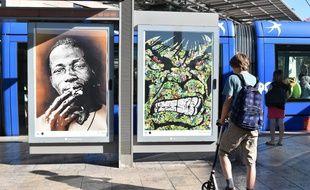 Pendant une semaine, en juin dernier, les publicités à la station Corum, à Montpellier, avaient été remplacées par les oeuvres de 13 street-artistes.