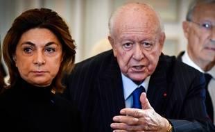 Martine Vassal et Jean-Claude Gaudin en novembre 2019