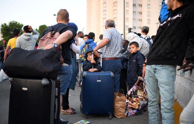 Une soixantaine de bus ont été réquisitionnés et à 7 heures, une dizaine de bus étaient déjà partis.