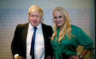 Boris Johnson et Jennifer Arcuri, à Londres en octobre 2014.