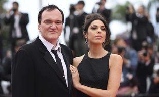 Quentin Tarantino et sa femme Daniela Pick sur le tapis rouge du Festival de Cannes le 18 mai 2019