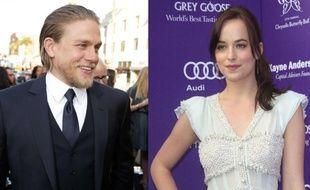 L'acteur britannique Charlie Hunnam  et l'Américaine Dakota Johnson interprèteront respectivement Christian Grey et Anastasia Steele dans  l'adaptation cinématographique du roman Cinquante nuances de Grey.