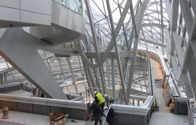 Lyon, le 4 décembre 2014 Vue intérieur du Musée des Confluences qui doit ouvrir le 20 décembre . C. Girardon / 20 Minutes