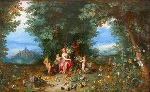 L'Allégorie de la terre, de Jan Brueghel.