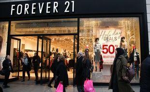 Un magasin Forever 21 à Londres.