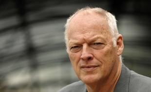 David Gilmour, membre de Pink Floyd, en 2008.
