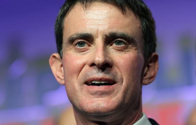 L'ancien Premier ministre Manuel Valls, candidat à la primaire à gauche, le 14 janvier 2017 à Toulouse