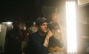 Xavier Dolan sur le tournage de Ma vie avec John F. Donovan