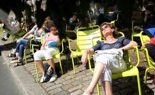 Beau temps à Paris en juillet 2015