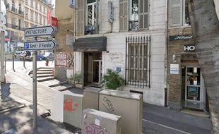 Une chambre de l'hôtel Manon, dans le centre-ville de Marseille, a pris feu ce jeudi matin.