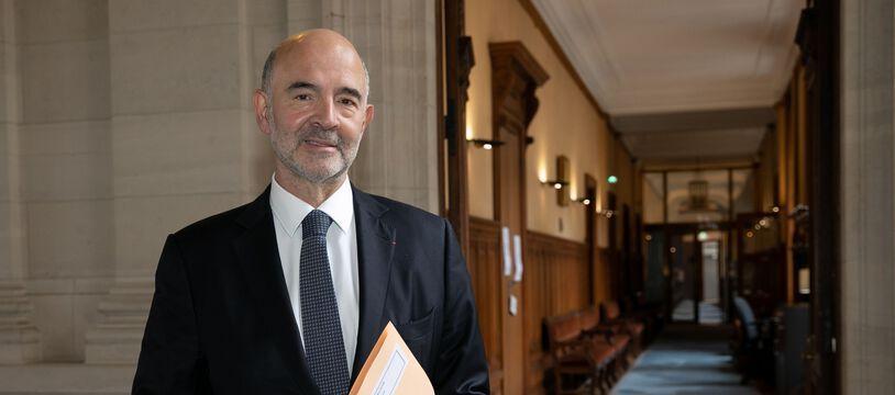 Pour Pierre Moscovici, l'enjeu est désormais de s'assurer que la dette reste
