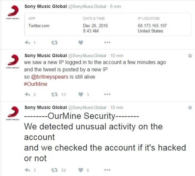 Le compte de Sony qui se perd en explications techniques.