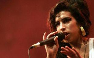 Amy Winehouse sur scène aux Eurockéennes de Belfort, le 29 juin 2007.