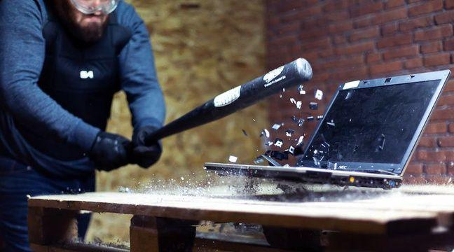 video pour se d fouler les toulousains vont pouvoir y aller coups de haches et de battes. Black Bedroom Furniture Sets. Home Design Ideas