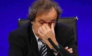 Michel Platini, le président de l'UEFA, le 24 mai 2013 à Londres.