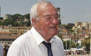 Bernard Brochand, député UMP, le 6 août 2013 à Cannes.