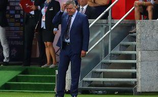 Le sélectionneur de l'Angleterre Sam Allardyce a quitté son poste, le 27 septembre 2016.