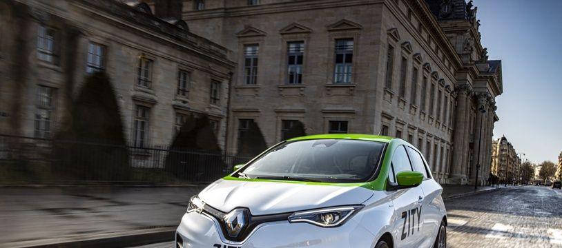 L'offre Zity proposera 500 ZOE électriques en autopartage.