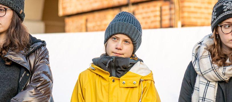 Greta Thunberg, le 13 décembre 2019 à Turin.