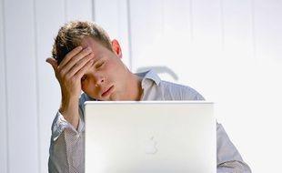 Illustration de stress au travail