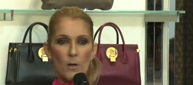 Capture d'écran Céline Dion