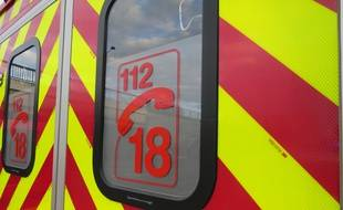 Les pompiers ont transporté l'homme de 40 ans, blessé, à l'hôpital après l'altercation. Illustration