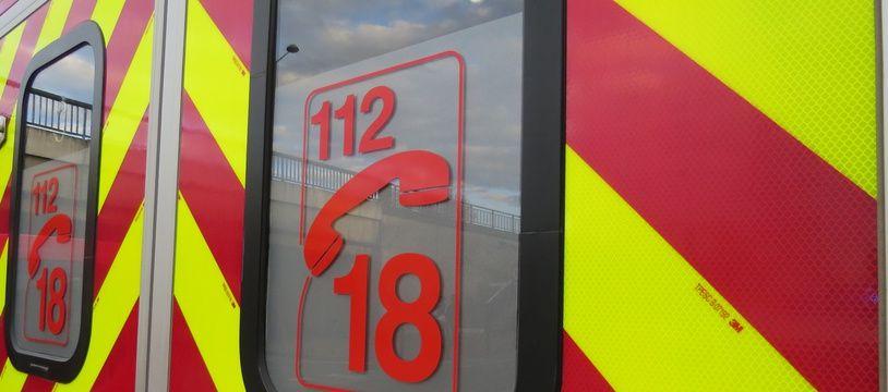 Un véhicule de pompiers. (Illustration)