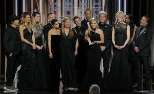 Reese Witherspoon, co-productrice de la série «Big Little Lies», lors des Golden Globes, le 7 janvier 2017.