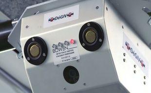 Le boitier qui enregistre et analyse images et son.