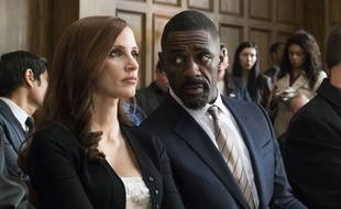 Jessica Chastain et Idris Elba dans Le grand jeu d'Aaron Sorkin