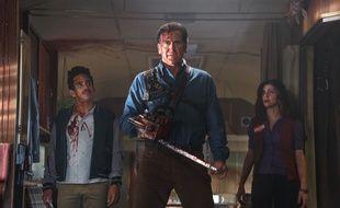 Bruce Campbell dans la série «Ash vs Evil Dead».