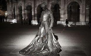 La statue de Nimeño II qui trône devant les arènes de Nîmes a encore été dégradée, avec de graves conséquences cette fois.