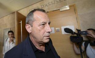Alain Orsoni au tribunal d'Aix-en-Provence le 11 mai 2015