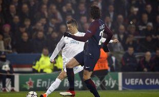 Ronaldo lors de PSG-Real Madrid en 8e de finale retour de Ligue des champions, le 6 mars 2018.