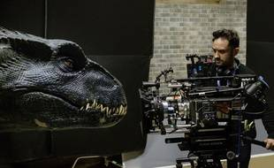 Le réalisateur Juan Antonio Bayona dirige Jurassic World: Fallen Kingdom