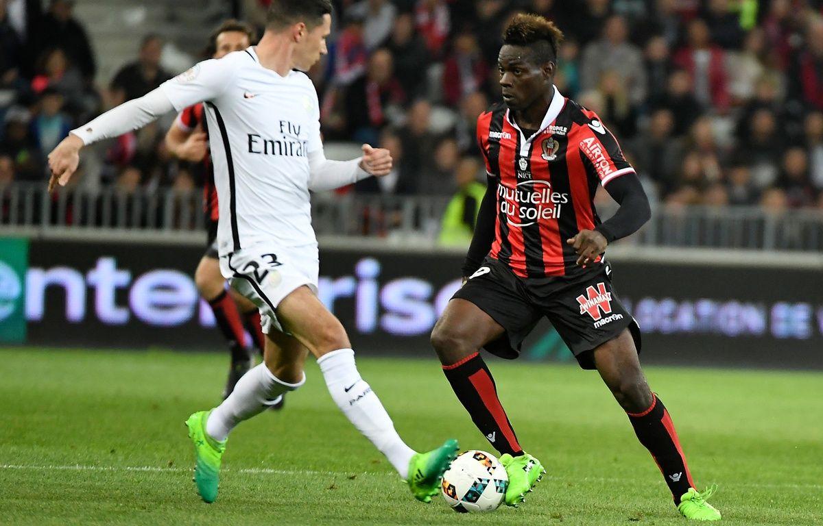 Balotelli a ouvert le score – Yann COATSALIOU / AFP
